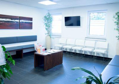 Wartezimmer Orthopäde Weiden